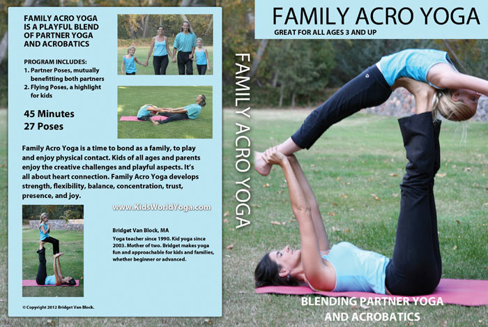 Family Acro Yoga Dvd The Light Of Truth Work